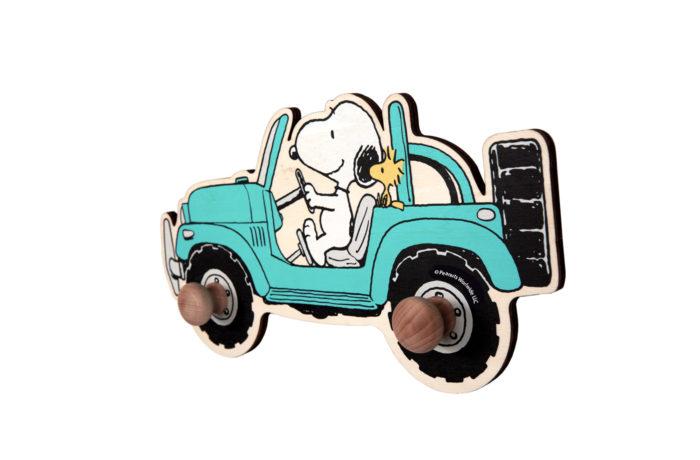 Porte-manteau Snoopy bleu