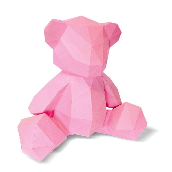 3D paper bear cub 8