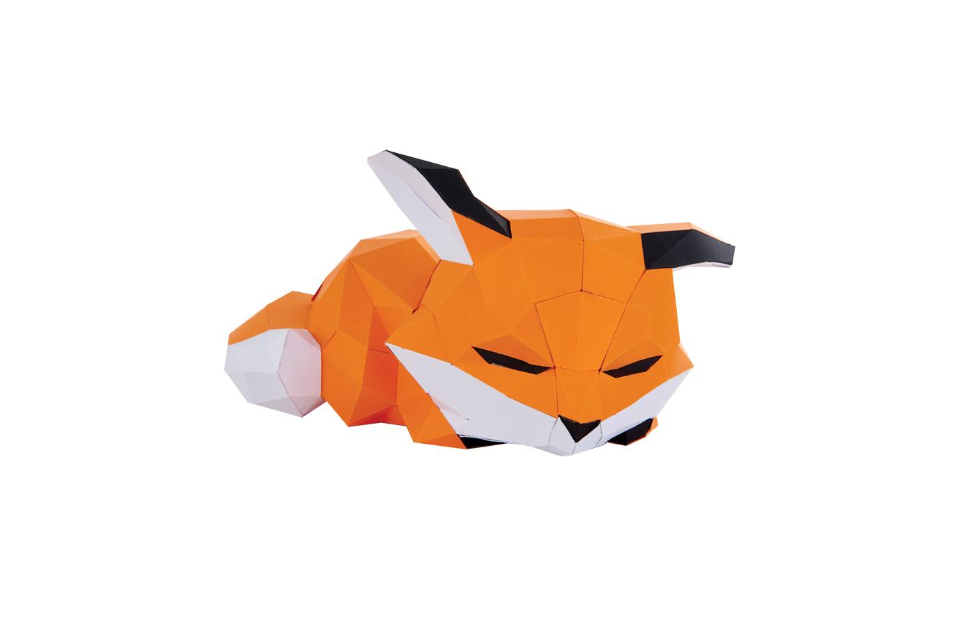 renard couché