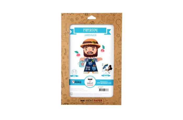 paper toy jardinier