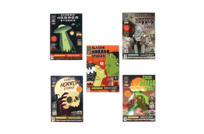 Carte Postale Horror Stories