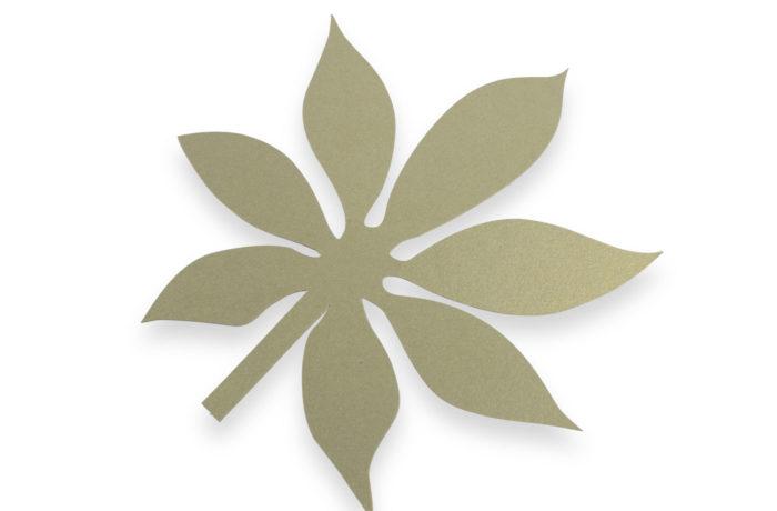 Kit de feuilles exotique chic 2 3760271838555