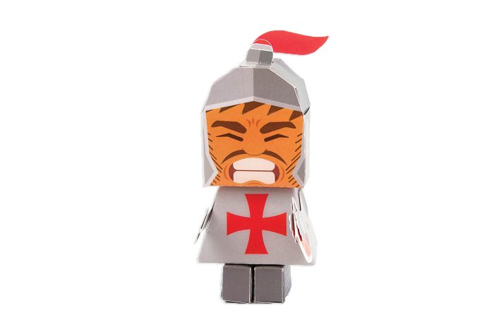 Knight Paper Toy 1