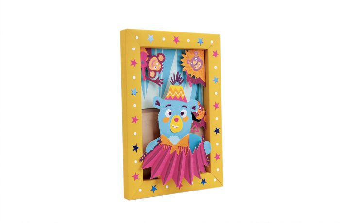 Circus picture frame 5