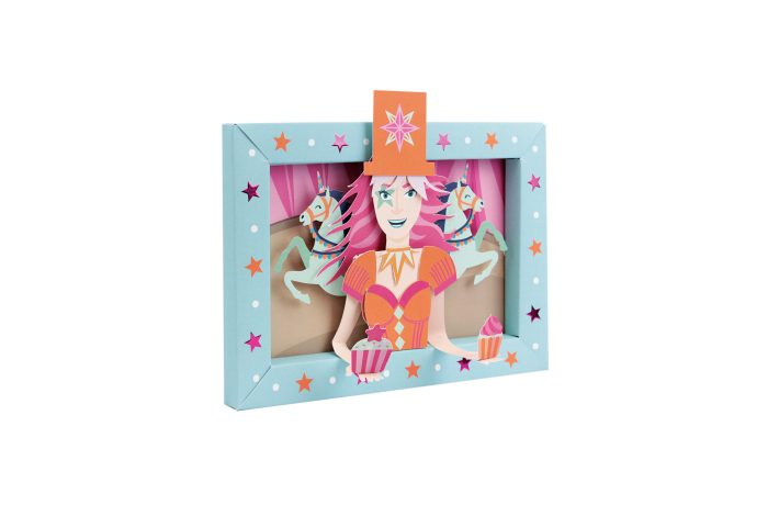 Circus picture frame 4