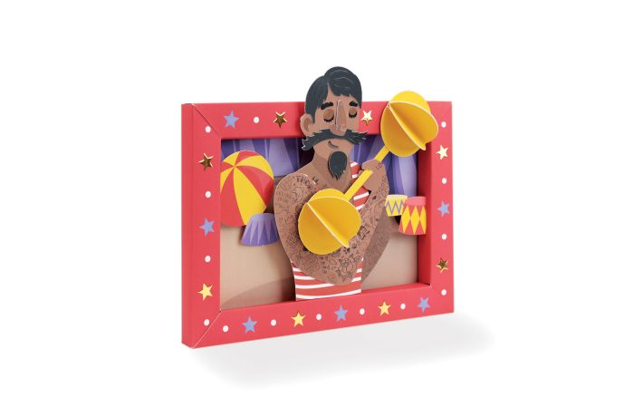 Circus picture frame 3