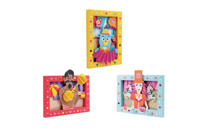 Circus picture frame 1