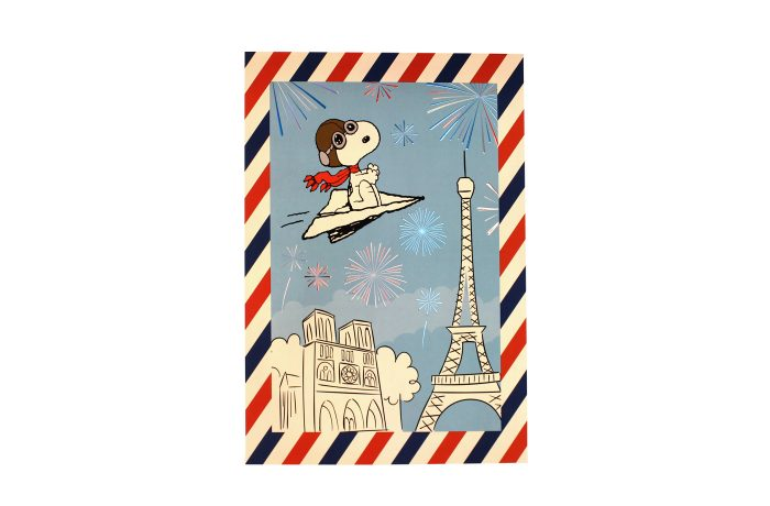 Affiche Snoopy France 1
