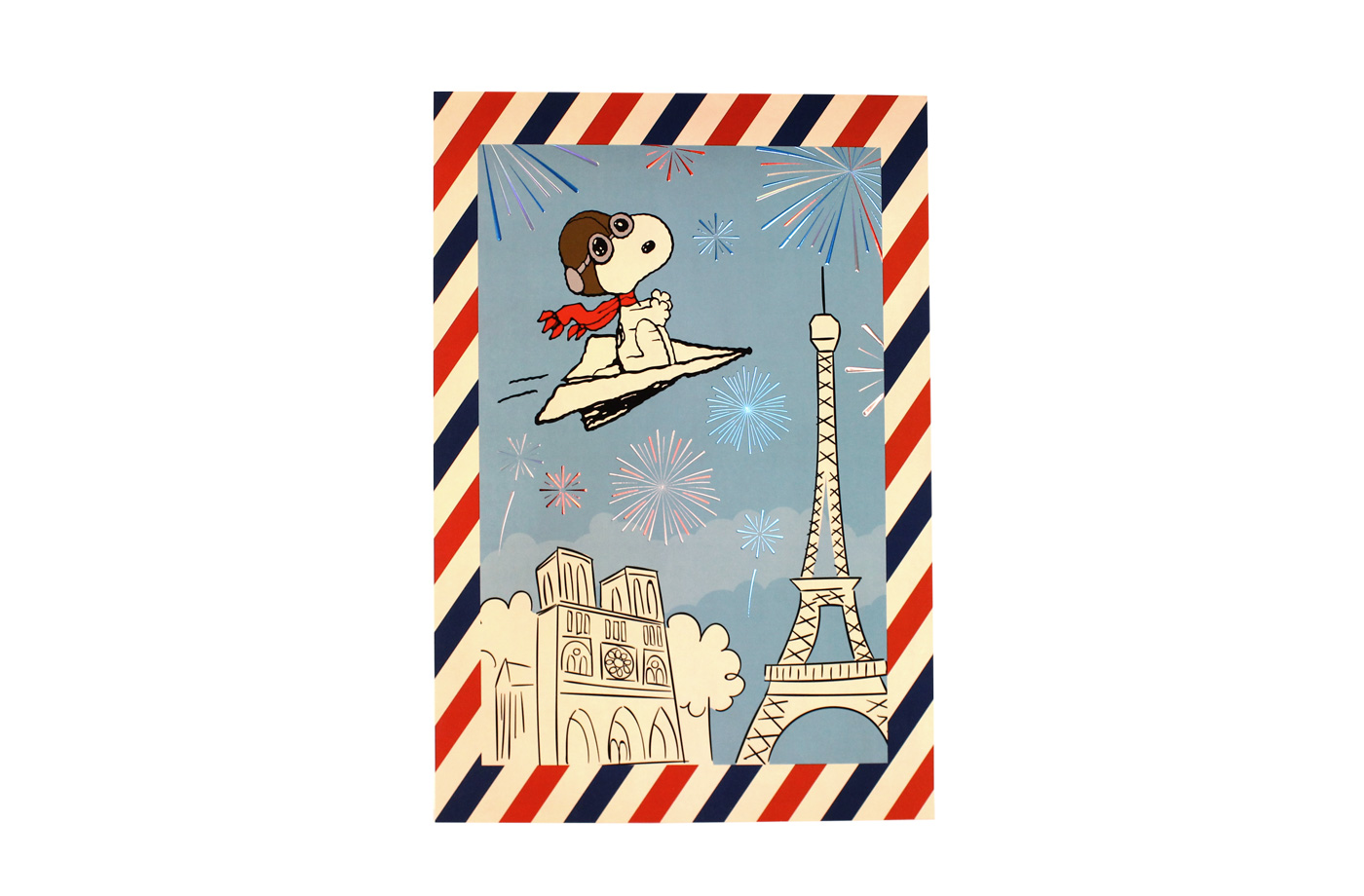 Affiche Snoopy France 2