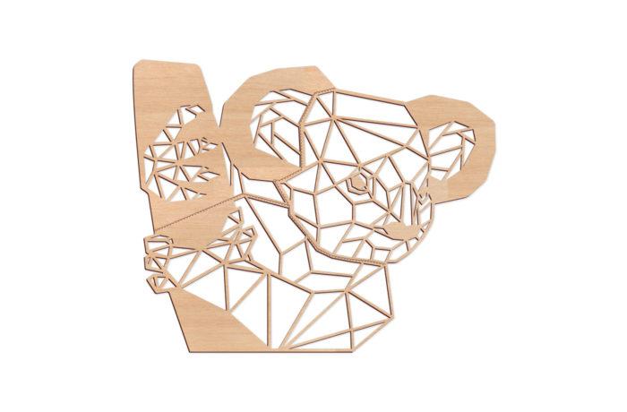 Trophée Géométrique Koala XL 1