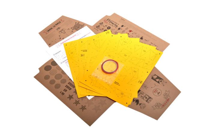 Ourson en papier 3d 3 2000000006703